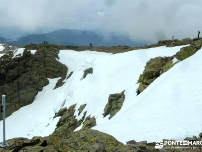 Peña Cítores, Cumbre Peñalara; rutas de senderismo en la sierra de madrid; ruta gr 10